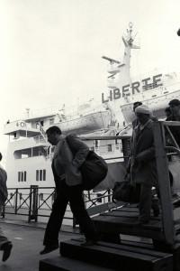 Jacques Windenberger, Arrivée du ferry-boat «Le Liberté» 16.03.1988