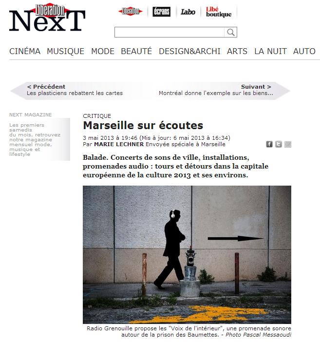 Critique libération_Marseille terre daccueil_3 mai 2013