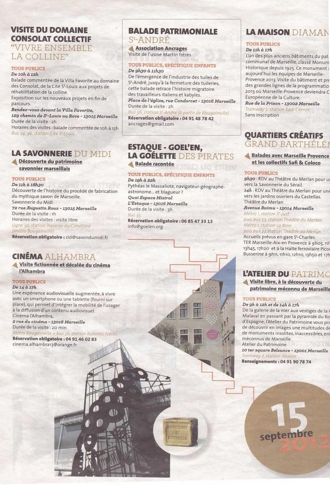 Journees europeennes du patrimoine 2012