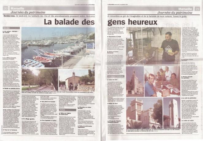 La Marseillaise JEP 2012