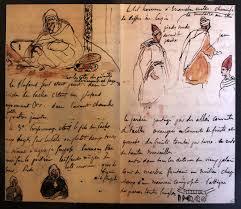 carnet de voyage au Maroc, Delacroix