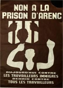 Non à la prison d'Arenc-Affiche