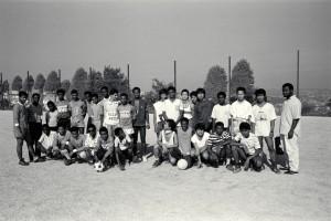 au tournoi de football organisé par le centre social pour les jeunes de la cité de La Savine (15è art.)