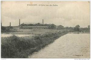 L'usine de Rassuen, image d'archives © delcampe.net