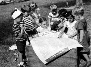 Second anniversaire de la Déclaration des Droits de l'Homme, 1950