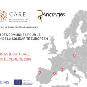 Ancrages participe au projet CARE, Cultural Action for Refugees in Europe